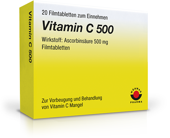 vitamin c 500 filmtabletten w rwag pharma. Black Bedroom Furniture Sets. Home Design Ideas